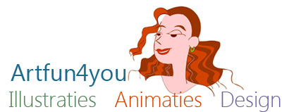Artfun4you: Illustraties,vormgeving en live cartoons